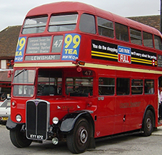 Photograph of Old RT London Buses